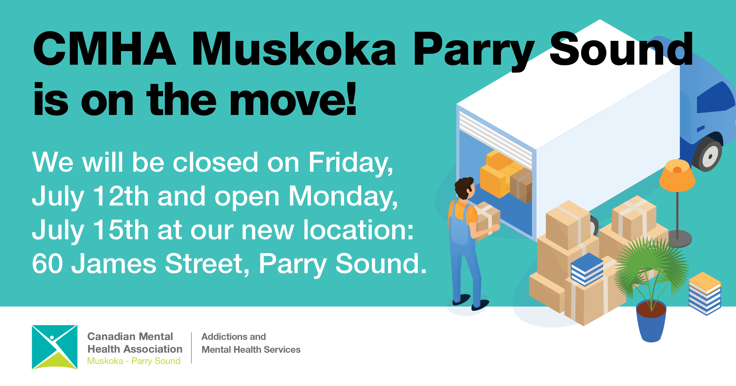 Parry Sound Office is Moving – July 12, 2019