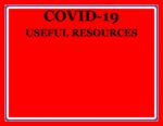 COVID-19 useful resources