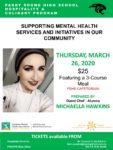 Posters of Mental Wellness dinner 2020