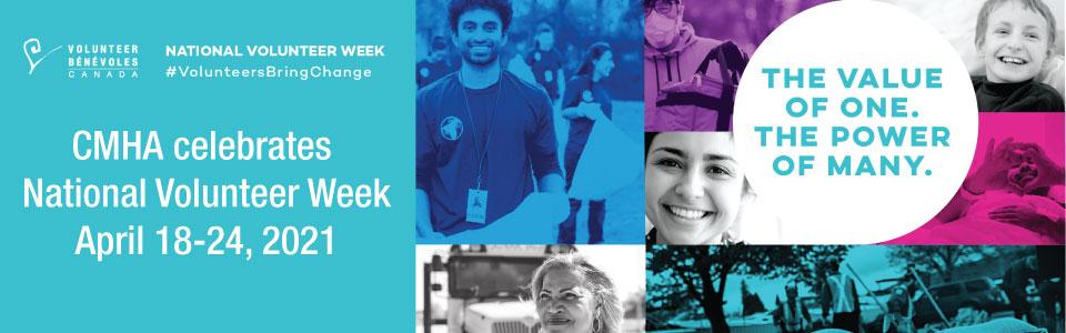 CMHA celebrates National Volunteer Week 2021